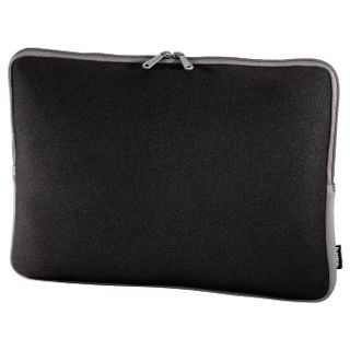 Hama Notebook-Sleeve Neoprene, Displaygrößen bis 34 cm (13,3), Schwarz/Grau