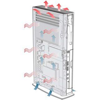 Arctic Cooling MC001-N Multimedia Barebone Atom D525 - black/silver