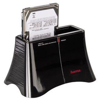 """Hama SATA USB 3.0 Dockingstation für 2.5"""" und 3.5"""" Festplatten (00053167)"""