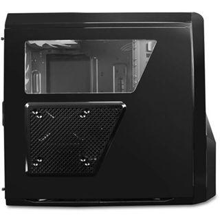 NZXT Phantom 410 Window gedaemmt Midi Tower ohne Netzteil schwarz