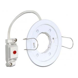 Delock LED-Fassung GX53 Typ D Einbau rund weiß, [46014]