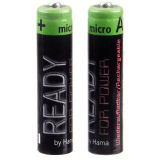 Hama ready4Power HR03 Nickel-Metall-Hydrid 1000 mAh 2er Pack