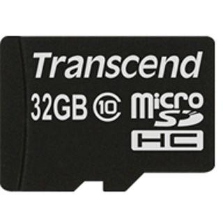 32 GB Transcend Extreme-Speed microSDHC Class 10 Retail