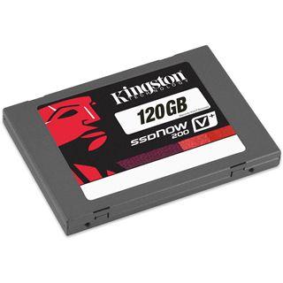 """120GB Kingston SSDNow V+ 200 Kit 2.5"""" (6.4cm) SATA 6Gb/s MLC asynchron (SVP200S3B/120G)"""