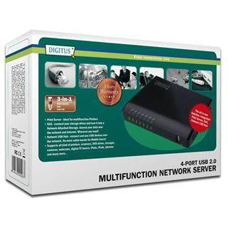 Digitus Multifunktions Server 4xUSB2.0