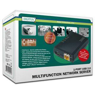 Digitus DN-13020 1x USB/100-Mbit