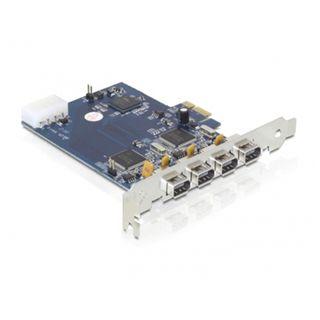 Delock 89173 4 Port PCIe x1 retail