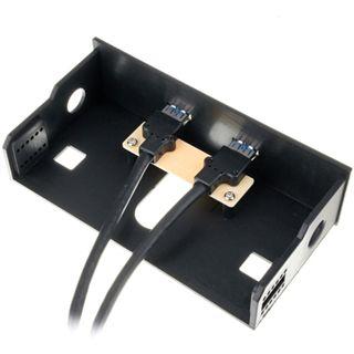 "BitFenix 2x USB 3.0 Softouch 5,25"" Front Panel für Gehäuse (BFA-U3-KS2525-RP)"