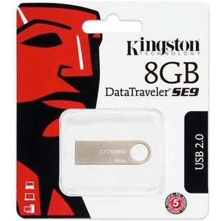 8 GB Kingston DataTraveler SE9 silber USB 2.0