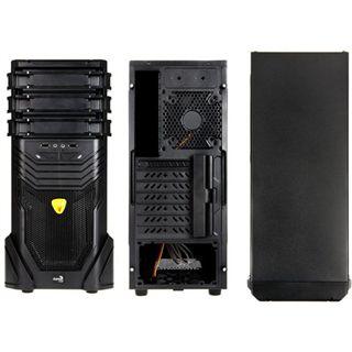 AeroCool VS-3 Midi Tower ohne Netzteil schwarz