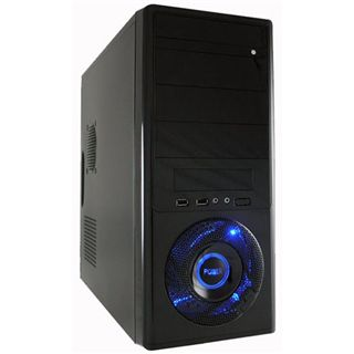 LC-Power 7006B Midi Tower 420 Watt schwarz
