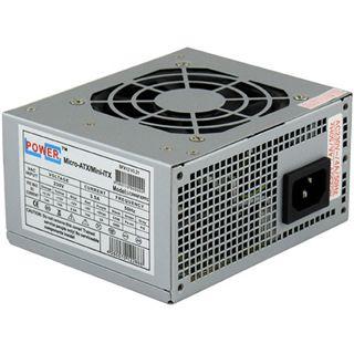 LC-Power LC-1400mi ITX Tower 200 Watt Klavierlack schwarz