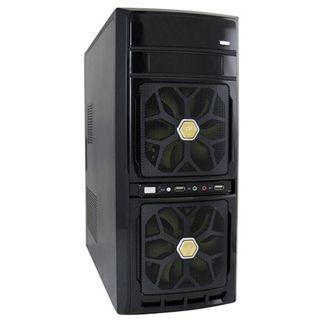 LC-Power 7032B Midi Tower 420 Watt schwarz