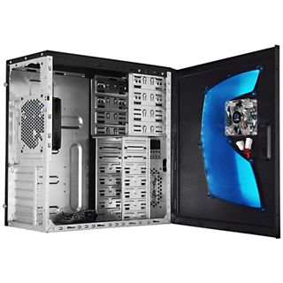 Raidmax Super Hurricane mit Sichtfenster Midi Tower ohne Netzteil schwarz