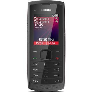 Nokia X1-01 Dual-SIM Dark Grey ohne Simlock ohne Branding
