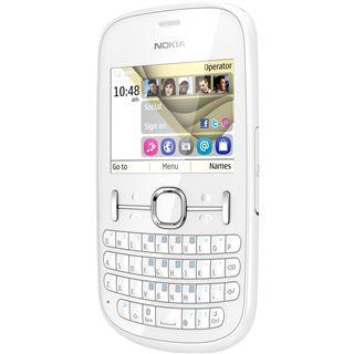 Nokia Asha 201 64 MB weiß