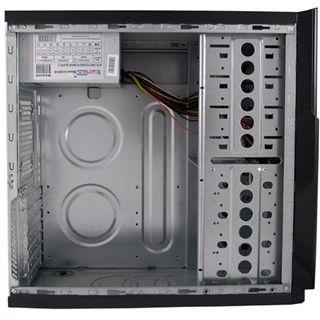 LC-Power 607B Midi Tower 420 Watt schwarz
