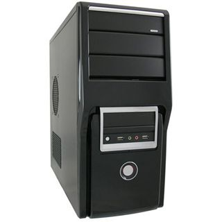 LC-Power PRO-934B Midi Tower 420 Watt schwarz