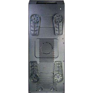 Inter-Tech Q7 Dozer mit Sichtfenster Midi Tower ohne Netzteil schwarz