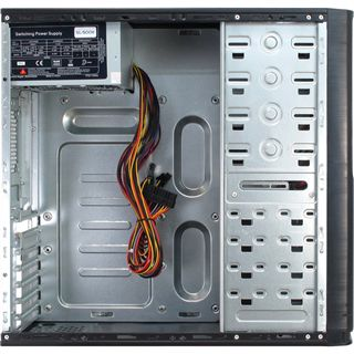 Inter-Tech SY-102 Midi Tower 500 Watt schwarz