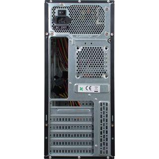 Inter-Tech SY-113 Midi Tower 500 Watt schwarz