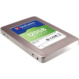 """120GB Verbatim SSD 2.5"""" (6.4cm) SATA 6Gb/s MLC asynchron (47378)"""