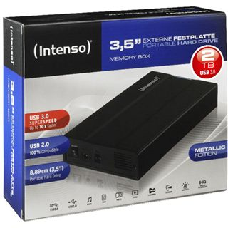"2000GB Intenso Memory Box 6032580 3.5"" (8.9cm) USB 3.0 schwarz"
