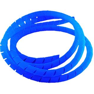 Bitspower 1m blaue UV Spiral Kabelhülle für Kabel (BP-UVCO-1)