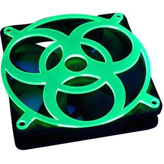 Bitspower 80mm ultragrün Lüftergitter für Lüfter (BP-UVFG80-3-18)
