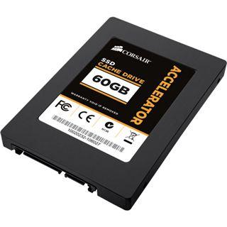 "60GB Corsair Accelerator Series 2.5"" (6.4cm) SATA 3Gb/s MLC asynchron (CSSD-C60GB)"