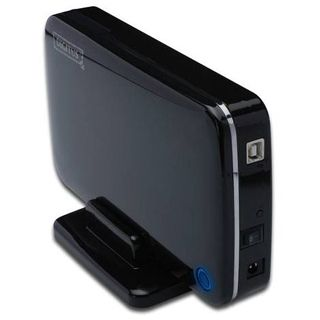 "Digitus DA-71051 3.5"" (8,89cm) USB 2.0 schwarz"