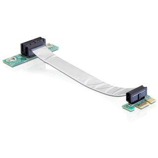 Delock PCIe x1 flexibel links gerichtet Riser Card für PCIe x1 (41839)