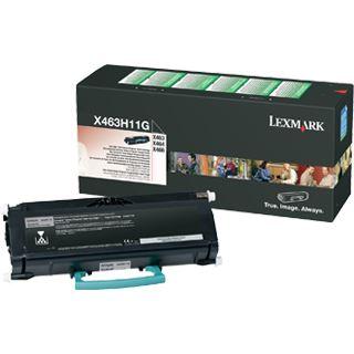 Lexmark Toner X463H116 schwarz