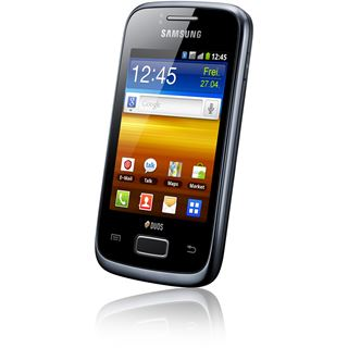 Samsung Galaxy Y Dous S6102 150 MB schwarz
