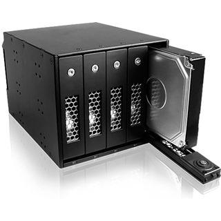 """ICY BOX IB-545SSK 5fach SAS/SATA Wechselrahmen für 3.5"""" Festplatten (54105)"""