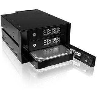 """ICY BOX IB-543SSK 3fach SAS/SATA Wechselrahmen für 3.5"""" Festplatten (54103)"""