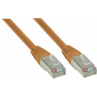 (€7,80*/1m) 0.50m Good Connections Cat. 6 Patchkabel S/FTP PiMF RJ45 Stecker auf RJ45 Stecker Braun