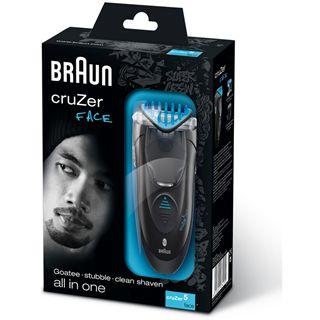 Braun Z5 cruZer face - Rasierer, Akku-/Netzbetrieb, Abwaschb