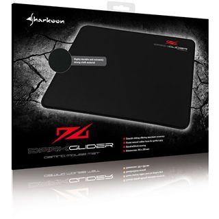 Sharkoon DarkGlider Gaming Mat 355 mm x 255 mm schwarz