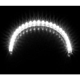 LAMPTRON 24cm weißes LED-Strip mit 24 LEDs für 4-Pin Molex (LAMP-LEDFL2404)