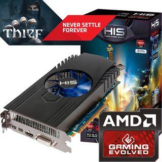 2GB HIS Radeon HD 7850 Aktiv PCIe 3.0 x16 (Retail)
