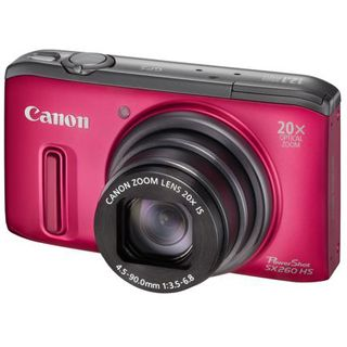 Canon PowerShot SX260 HS rot