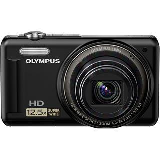 Olympus VR-320 schwarz kit inkl. Tasche + 4GB SD + Ersatzakku