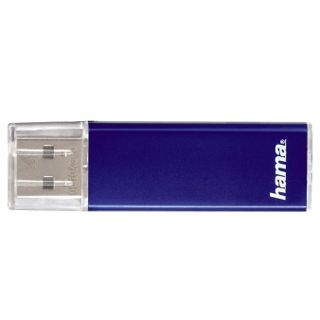 "64 GB Hama FlashPen ""Valore"" blau USB 2.0"