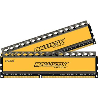 4GB Crucial Ballistix Tactical DDR3-1600 DIMM CL8 Dual Kit