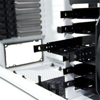 nox Hummer Zero 3.0 Big Tower ohne Netzteil weiss/schwarz