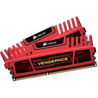 16GB Corsair Vengeance rot DDR3-1866 DIMM CL10 Dual Kit