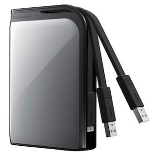 "500GB Buffalo MiniStation Extreme HD-PZ500U3S-EU 2.5"" (6.4cm) USB 3.0 silber"