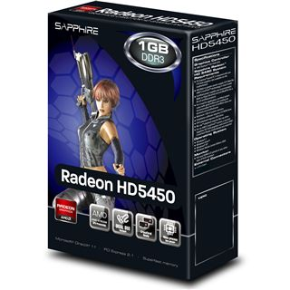1GB Sapphire Radeon HD 5450 Passiv PCIe 2.1 x16 (Lite Retail)