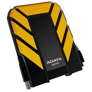"""1000GB ADATA DashDrive Durable HD710 AHD710-1TU3-CYL 2.5"""" (6.4cm) USB 3.0 gelb"""